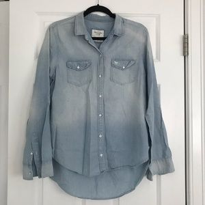 Abercrombie & Fitch Denim Button Down Shirt